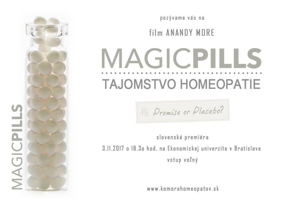 Magic pills - Tajomstvo homeopatie