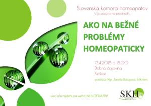 Prednáška o homeopatii