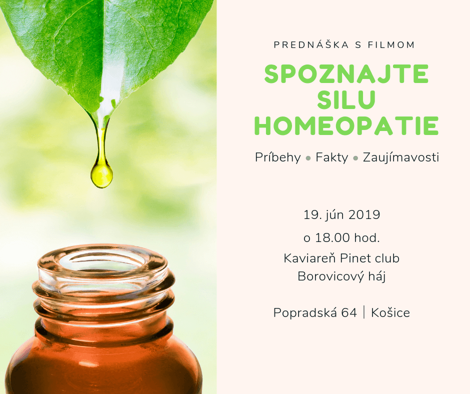 Premietanie filmu o homeopatii