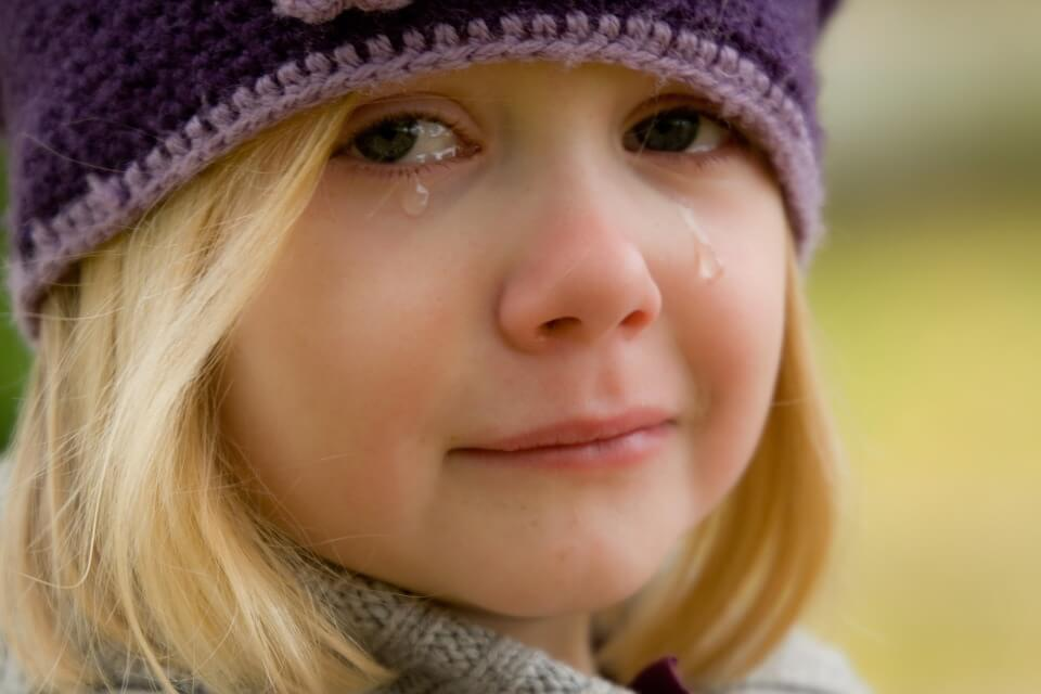 plačúce dieťa