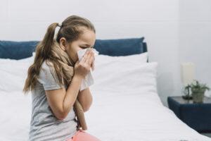 oslabená imunita, zvýšená chorobnosť
